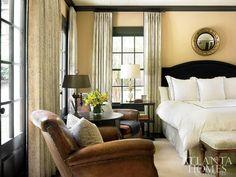 Master Bedroom: A gentlemen's bedroom with elegant and simple masculinity
