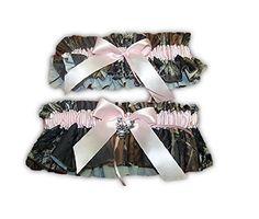 7eb9c7a7e4c Amazon.com  Camouflage Light Pink Casing Garter Set Deer Charm Added  Home    Kitchen. Mossy Oak ...