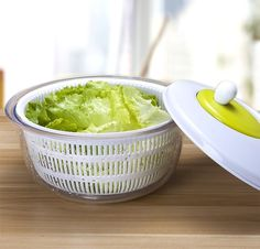 Salad Spinner X-Chef Salad & Fruit Containers $14.99 (amazon.com)