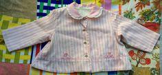 Pink Candy Stripe 60s Jacket by lishyloo on Etsy