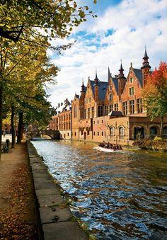 Brujas, el esplendor medieval de Flandes