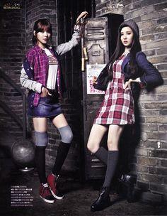 Sooyoung -Seohyun de  Girls Generation(SNSD) son Universitarias con los estilos de  Tommy Hilfiger [FOTOS]