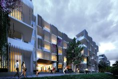 #huniarchitectes #vietnam #danang  #fptuniversity #architecture #vietnamarchitecture #pixel #masterplan #dormitory