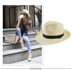 Chapéu Panamá | Straw Hat #moda #look #outfit #looknowlook