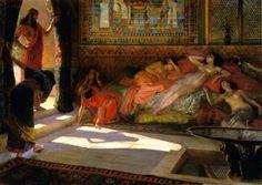 Nouvelle arrivée au harem – Thebes XVIII Dynastie