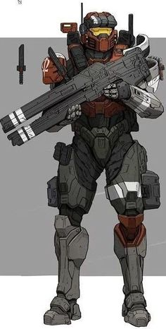 Armor Concept, Weapon Concept Art, Game Character Design, Character Art, Odst Halo, Halo Cosplay, Halo Spartan, Halo Armor, Halo Master Chief