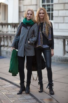 Street Style Fall 2013: London Fashion Week