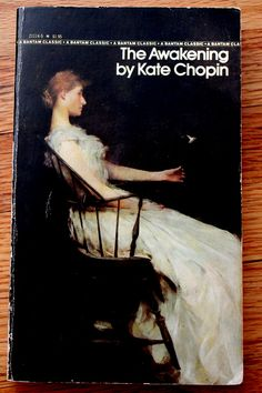 There are so many beautiful/contemporary covers for this book's reprints through the years, but this is the cover from when I read it in college, again as part of a lit course. But I've re-read it since and still find myself haunted by the themes.