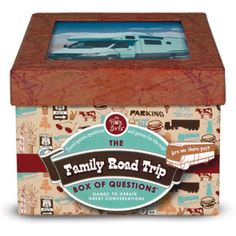 Family Road Trip Question Box now featured on Fab.