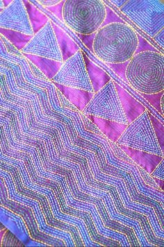 Kantha scarves/Pia Ka Ghar/ Once Upon a Tea Time