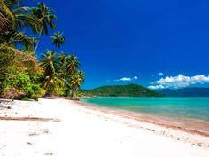 Südlich von Koh Samui liegen die kleineren Inseln Koh Tan und Koh Madsum. Wir zeigen dir die preiswerteste Möglichkeit diese Inseln zu erleben. Lamai Beach, Water, Outdoor, Palm Trees Beach, Small Restaurants, Thailand Travel, Small Island, Islands