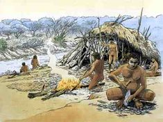 imagenes homo erectus fuego - Buscar con Google Stone Age People, Primitive Pictures, Brain Size, Prehistoric Man, Great Philosophers, Live Animals, Historical Pictures, Shelter, Greece