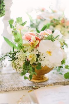 Taylor Lord Photography / Teal, Gold, Green, and Peach Wedding Ideas / Paper Styled Shoot Challenge on Style Unveiled