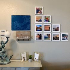 What's your favorite way to display your tiles? This is one of our faves! 😍 Thanks for sharing, Cali J. Thanks For Sharing, Cali, Tiles, Photo Wall, Gallery Wall, Display, Frame, Inspiration, Instagram