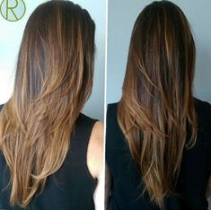 Long straight hairstyles are gorgeous when slim and healthy. Long straight hair can be styled with various hairstyles and ideas. Long straight hairstyles have been in fashion for centuries and can … V Shaped Haircut, Hair 2018, Hair Looks, Hair Trends, New Hair, Hair Inspiration, Hair Makeup, Hair Beauty, Layered Hairstyles