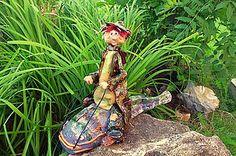 Socha - rybár na sumcovi - 5796121_