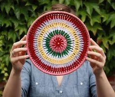 quadros decorativos em croche - Pesquisa Google