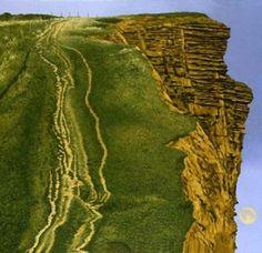 DAVID INSHAW  East Cliff--West Bay