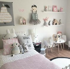 s room home 인테리어, 어린이방, 소녀 방. Kids Decor, Home Decor, Little Girl Rooms, Kid Spaces, Baby Room, Child Room, Girl Toddler Bedroom, Unisex Bedroom Kids, Kids Bedroom Ideas For Girls