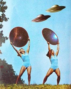 Idlewild Airport started using pretty women in skimpy outfits as landing crews for the Off-worlders. They were cheap, hot and the aliens wanted our women anyway.