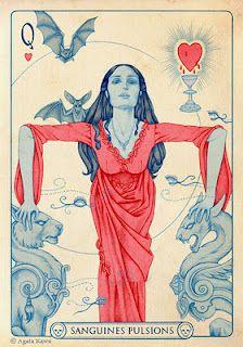 Queen of Hearts by Agata Kawa