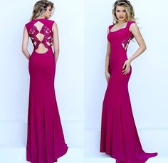 Fushia Prom Dress