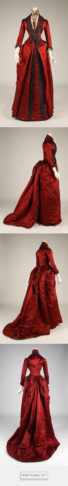 Dinner dress late 1870s American | The Metropolitan Museum of Art