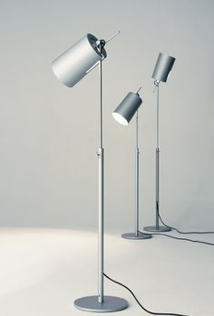TUBA FLOOR LAMP - Designer Free-standing lights from Anta Leuchten ✓ all information ✓ high-resolution images ✓ CADs ✓ catalogues ✓ contact. Cool Lighting, Lighting Design, Pendant Lighting, Luminous Intensity, Flur Design, Floor Standing Lamps, Standing Lights, Celadon, Cool Floor Lamps