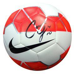 Carli Lloyd Autographed Nike Soccer Ball PSA/DNA ITP Stock #93023