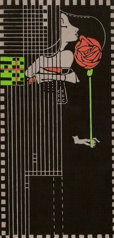 Willow Tea Room Rose by Charles Rennie MacKintosh