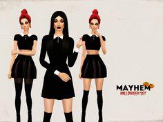 Halloween Set by NataliMayhem at TSR via Sims 4 Updates