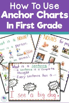 Anchor Charts In The First Grade Classroom - Firstieland