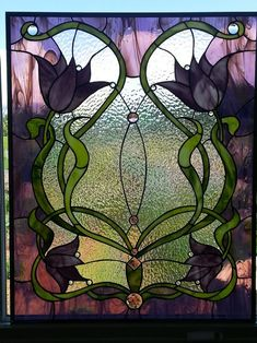 Tranquility, Happy Retirement - Delphi Stained Glass