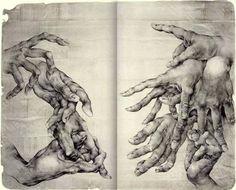 art journals / Journal Artist unkown. #hands on imgfave