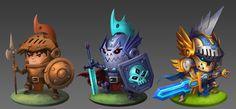 Knight Evolutions by animot.deviantart.com on @DeviantArt