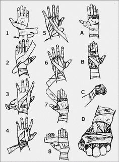 How to wrap up your hands - Imgur
