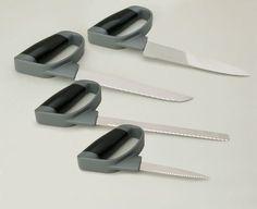 The Reflex Comfort Easy Grip Angled Chefs Utensils.