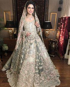 Indian Bridal Wear Anarkali Walima 56 Ideas For 2019 Asian Bridal Dresses, Asian Wedding Dress, Muslim Wedding Dresses, Bridal Outfits, Indian Dresses, Bridal Gowns, Bridal Lehenga, Indian Outfits, Indian Bridal Wear