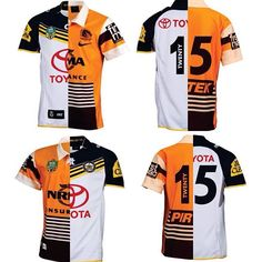 Cowboys v Broncos or Broncos v Cowboys? Which jersey would you have in your collection? Go Queensland! Nrl Broncos, Brisbane Broncos, Cowboys Vs, Queenslander, Rugby League, Football, Sports, Collection, Soccer
