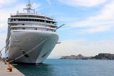 Silver Spirit in Corfu. Photo by Carrie Finley-Bajak