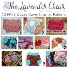 Every baby has and needs little diaper cover crochet patterns for their little bumbums! All of these are so cute and freeeeee! Looking for something quick? This Simple Diaper Cover shouldn't take you but a half an hour! Great for a last minute gift idea. These Baby Soakers are so fast and so easy! This simple Simple Diaper Cover doesn't come …