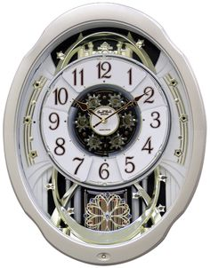 Upscale Home Decor RhythmsClocks.com - Rhythm Marvelous Wall Clock 4MH842WD18, $399.00 (http://www.rhythmsclocks.com/rhythm-marvelous-musical-motion-wall-clock-4mh842wd18.html)