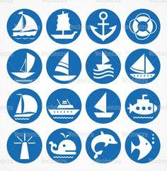 Nautical-vector-symbols