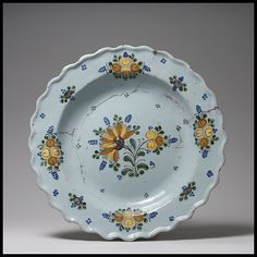 Plate, ca. 1820. Mexican. The Metropolitan Museum of Art, New York. Gift of Mrs. Robert W. de Forest, 1911 (18.36)