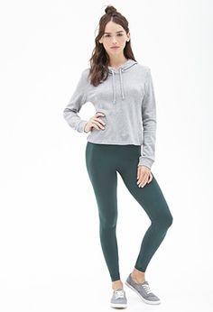 Stretch Knit Leggings | Forever 21 - 2052289228