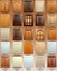 Woodmont Doors wood cabinet doors and drawer fronts, refacing supplies, veneer and mouldings. Kitchen cabinet renovations.