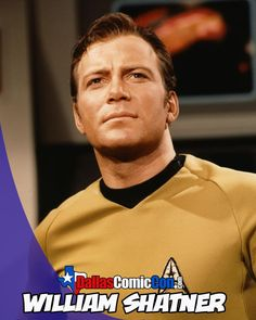 #DallasComicCon 2013 May 17-19 William Shatner at Dallas Comic Con
