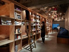 BOOK AND BED TOKYO by Suppose Architect