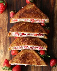 Strawberry Cheesecake French Toast | Weekend Brunch For Two