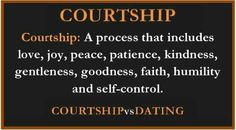 What is courtship in christianity